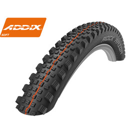 "SCHWALBE Rock Razor - Pneu vélo - 27,5"" Addix Soft SuperG TL-Easy noir"